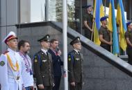 В Северодонецке подняли Государственный Флаг Украины
