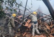 Взрыв в Запорожской области