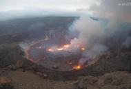 Гавайи, извержение вулкана