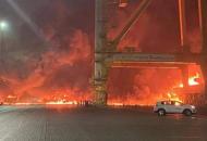 В Дубае прогремелмощный взрыв