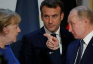 Меркель и Макрон поговорили с Путиным