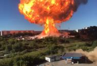 Новосибирск, взрыв на АЗС