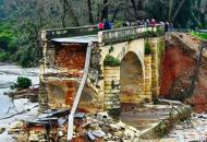 Греция, Крит, обрушение моста