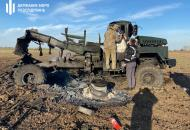 """В Херсонской области взорвался военный """"КрАЗ"""" с боеприпасами"""