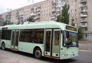 движение троллейбусов