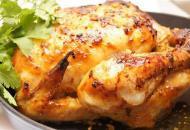 Курица, маринованная в горчично-медовом соусе