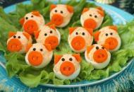Новогодняя закуска «Свинки»