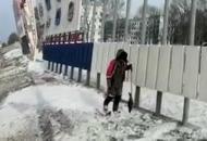 Дальний Восток, Россия, снег