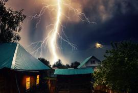 защита от удара молнии