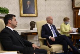 встреча Зеленского и Байдена