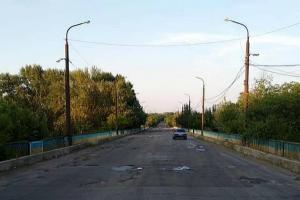 Луганская, дороги