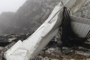 Испания, крушение самолета