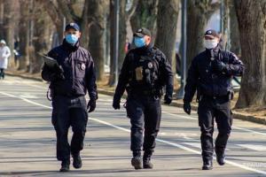 В Украине полиция будетконтролировать условия соблюдения карантина