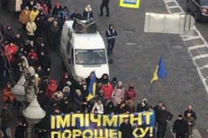 Киев, импичмент Порошенко