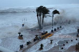 Испания, шторм