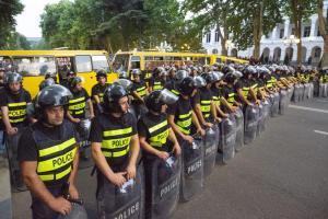 Тбилиси, митинг