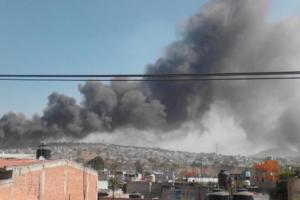 Мексика, взрыв