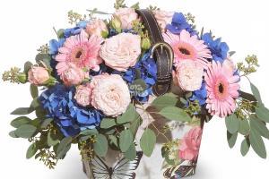Оригинальный цветочный букет