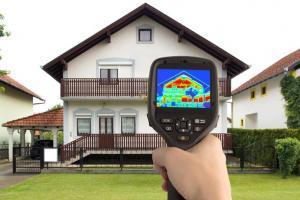 Обследование тепловизором и основные причины тепловых потерь дома