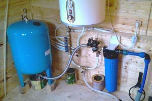 Гидроаккумулятор для частного дома