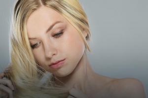Сухие волосы - мытье, питание, уход