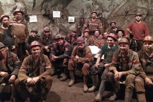 подземная забастовка