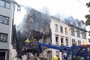 германия взрыв дома
