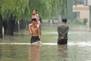 наводнения в корее