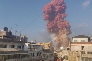 ливан взрыв