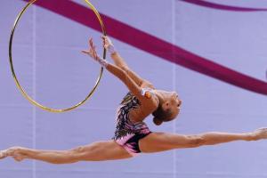 В Киевестартовал Чемпионат Европы по художественной гимнастике