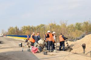 """На Луганщине продолжается строительство нового КПВВ """"Счастье"""""""
