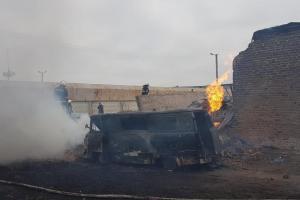 Взрывна газораспределительной станции вХарьковской области