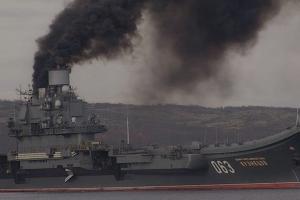 Россия, пожар на корабле