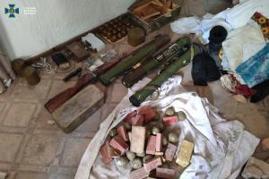 На Донбассе обнаружен крупный тайник боевиков