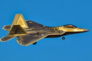 В штате Флорида разбился истребитель F-22 RaptorВВС США