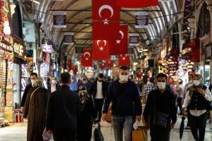В Турции зафиксирован всплесккоронавирусаCOVID-19