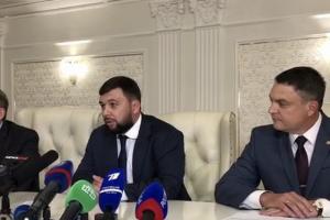 "Медведчук на встрече с главарями ""ДНР"" и ""ЛНР"""