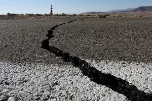 Калифорния, землетрясение