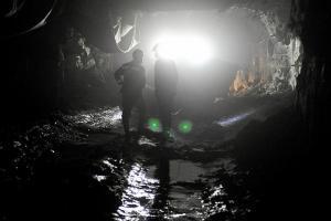 Луганская, шахтеры, забастовка