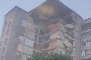 Молдова, дом, обрушение