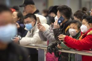 Китай, вирус