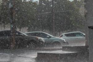 Днепр, непогода