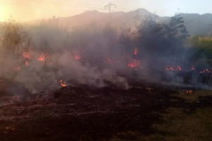 Венесуэла, пожар