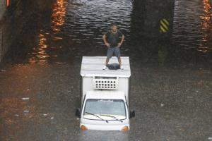 Стамбул, наводнение