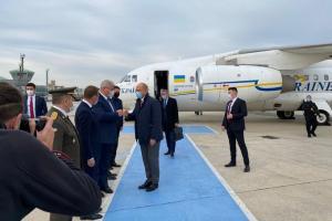 Шмыгаль прибыл в Турциюс двухдневным рабочим визитом