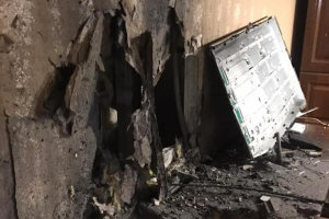 Взрыв в Рубежном