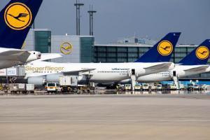 забастовка, аэропорт, Германия
