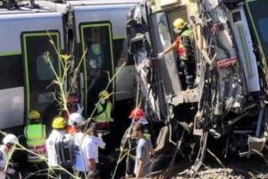 Железнодорожная катастрофа в Португалии: скоростной поезд сошел с рельсов, есть жертвы