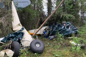 Авиакатастрофа над Аляской