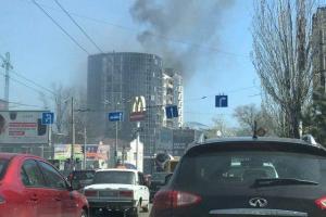 Одесса, пожар